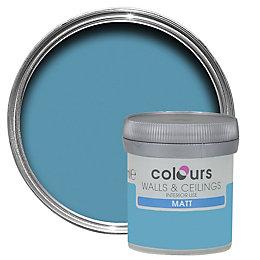 Colours Atoll Matt Emulsion Paint 50ml Tester Pot
