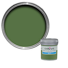 Colours Sherwood Matt Emulsion Paint 50ml Tester Pot