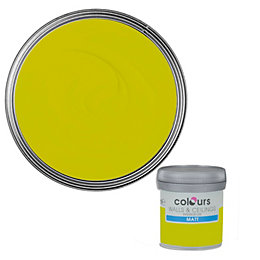 Colours Standard Lime Matt Emulsion Paint 0.05L Tester