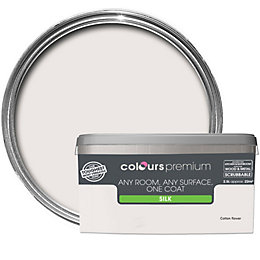 Colours Premium Cotton Flower Silk Emulsion Paint 2.5L