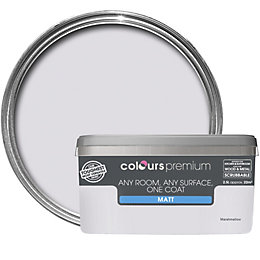Colours Premium Marshmallow Matt Emulsion Paint 2.5L