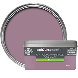 Colours Premium Berries Silk Emulsion Paint 2.5L