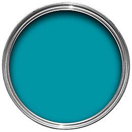 Colours Premium Tropez Blue Silk Emulsion Paint 2.5L