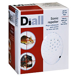 Diall Sonic Repeller Mouse & Rat Control 104G