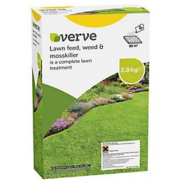 Verve Lawn Feed, Weed & Moss Killer 2.8kg