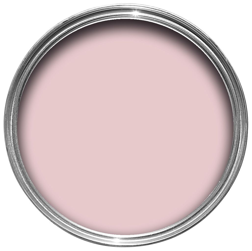 B&q Pink Matt Emulsion Paint 2.5l