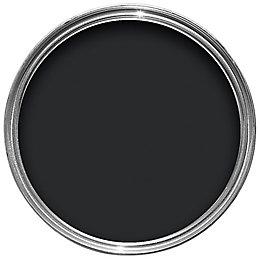 Colours One Coat Internal & External Black Satin