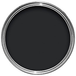Colours Quick Dry Internal Black Satin Emulsion Paint