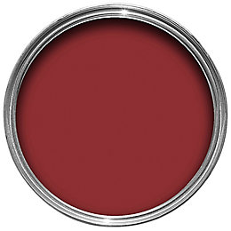 Colours Interior & Exterior Classic Red Gloss Wood