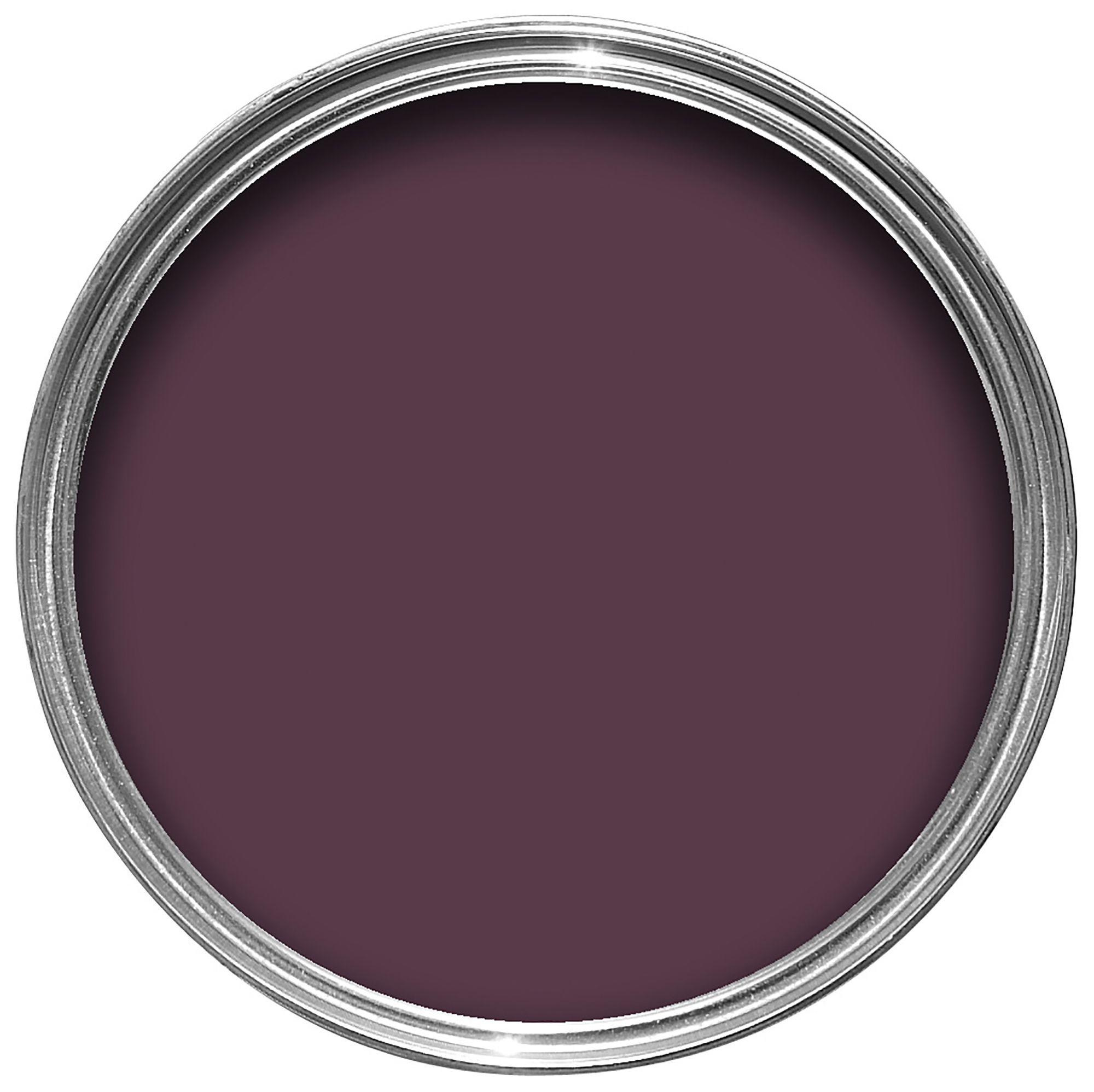 Colours Exterior Dark Plum Gloss Wood & Metal Paint 750ml