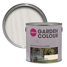 Colours Garden Ivory Matt Paint 2.5L