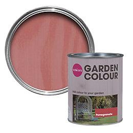 Colours Garden Pomegranate Matt Woodstain 750ml