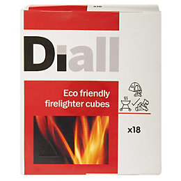 DIALL INDVDLLY WRAPPED FIRELIGHTER CUBES