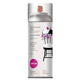 Colours Gloss Varnish Spray Paint 400ml