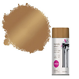 Colours Gold Metallic Effect Spray Paint 150 ml