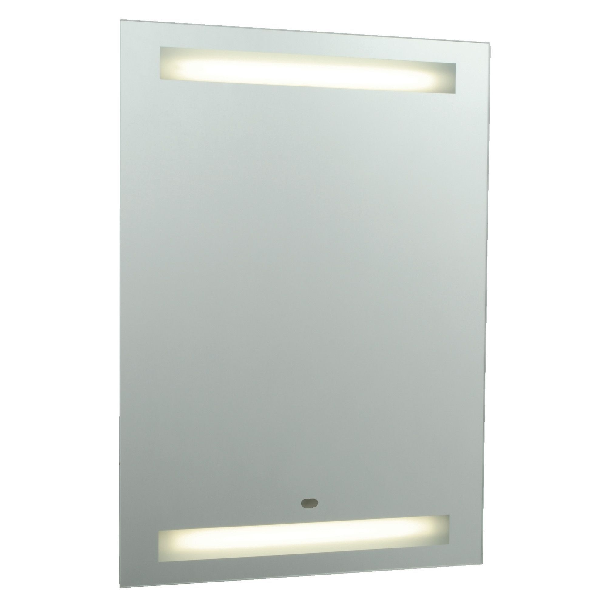 Cooke and lewis bathroom mirrors - Cooke Lewis Tamise Illuminated Rectangular Mirror W 600mm H 800mm Departments Diy At B Q
