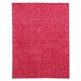 Colours Kala Pink Rug (L)1.6m (W)1.2m