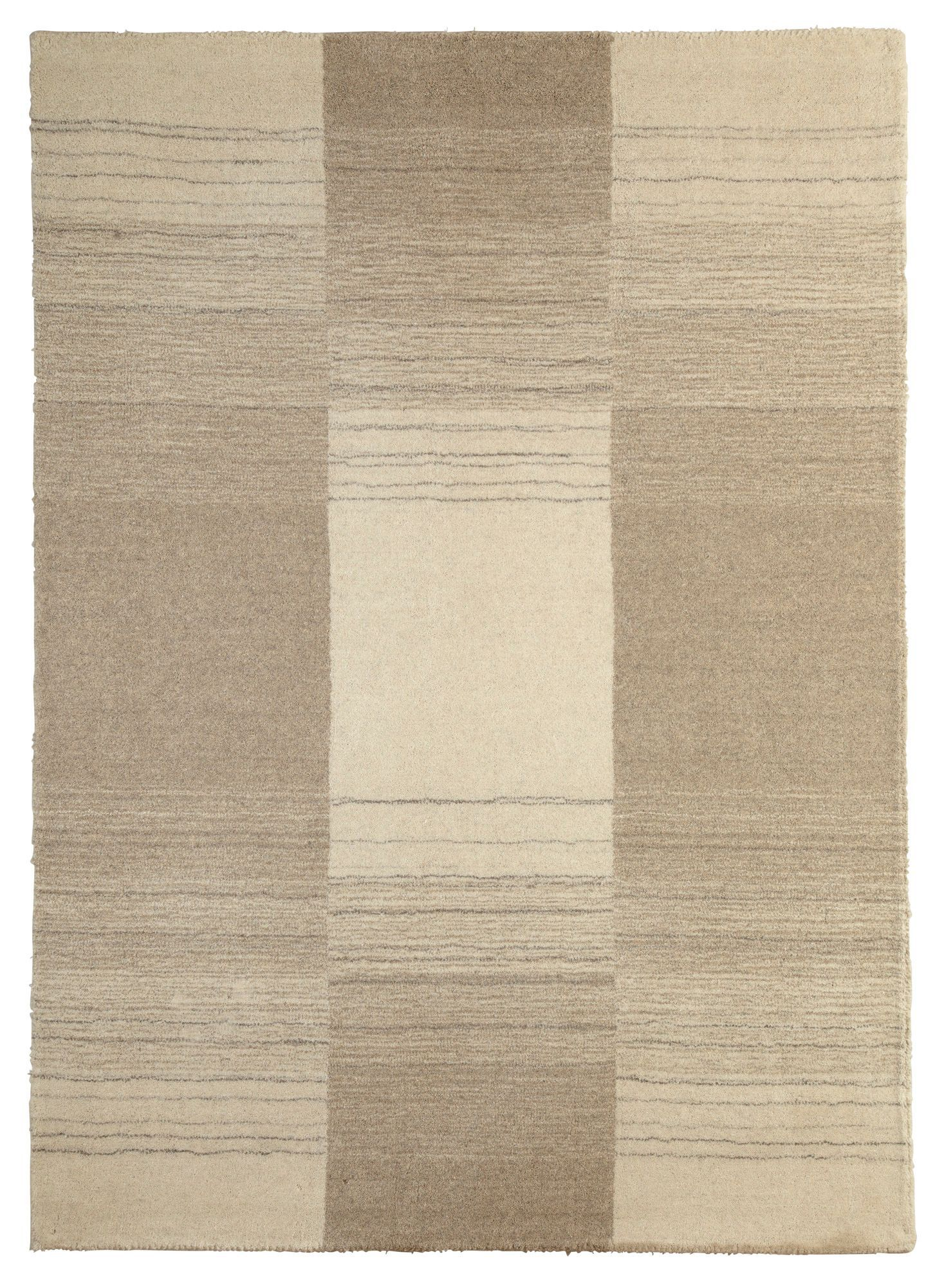 Colours Farrah Cream Grey Striped Rug L 2 3m W 1 6 M Departments Diy At B Q