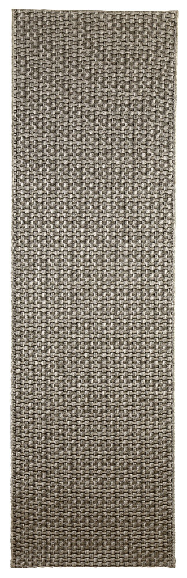 Colours Fearne Grey Synthetic Runner (l)2.0m (w)0.6m