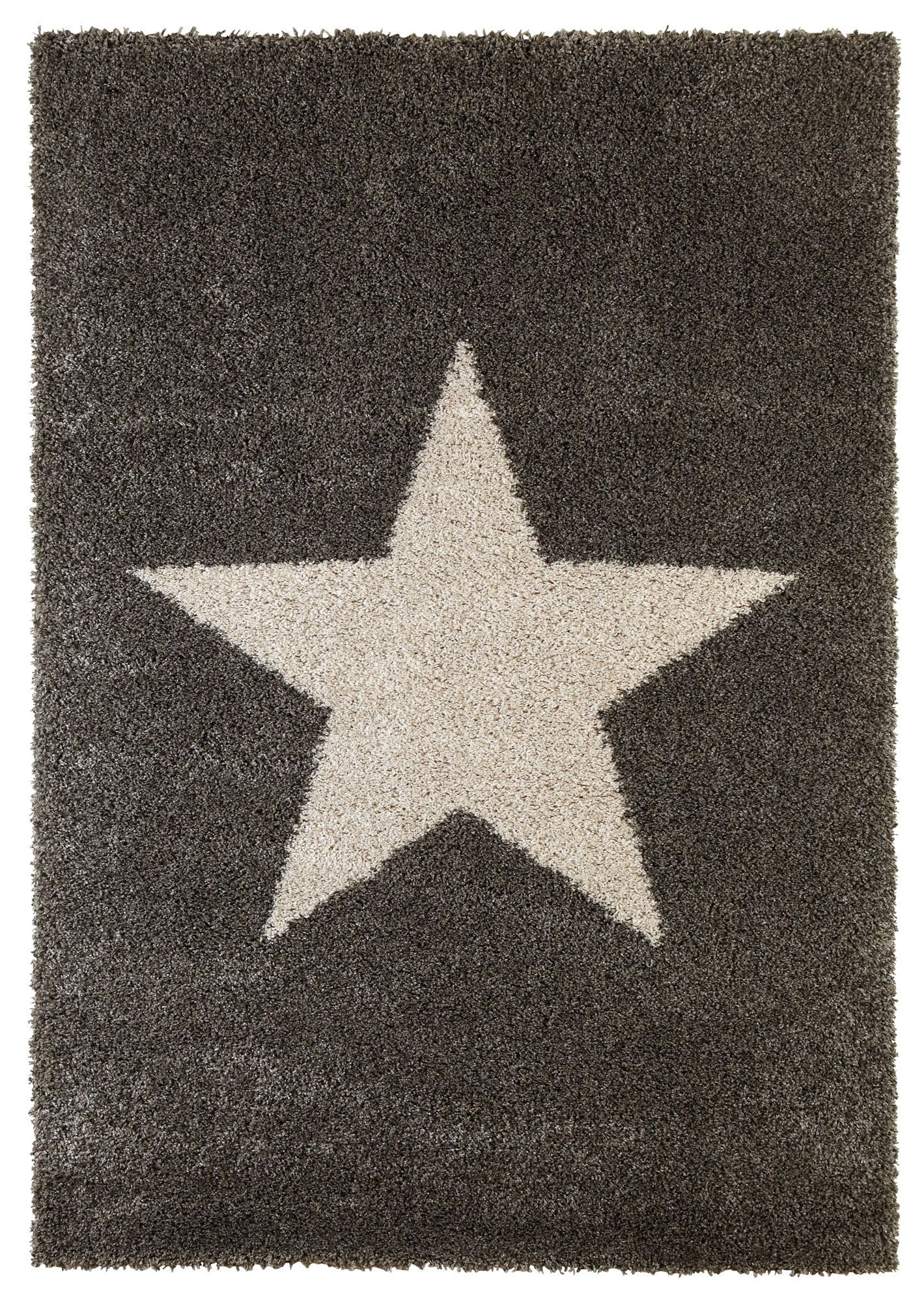 Colours Felicity Cream Grey Star Rug L 1 7m W 2m Departments Diy At B Q