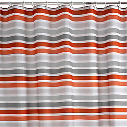 Cooke & Lewis Grey & Red Hyale Stripe