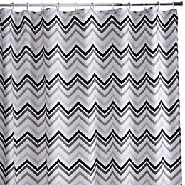 Cooke & Lewis Grey & White Teter Chevron