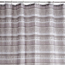 Cooke & Lewis Grey Agstis Spot Shower Curtain