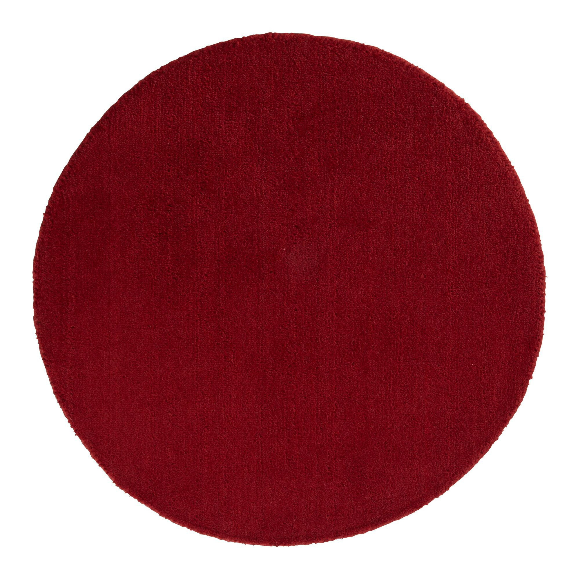 Colours Silas Red Rug L 0 8m W 0 8m Departments Diy