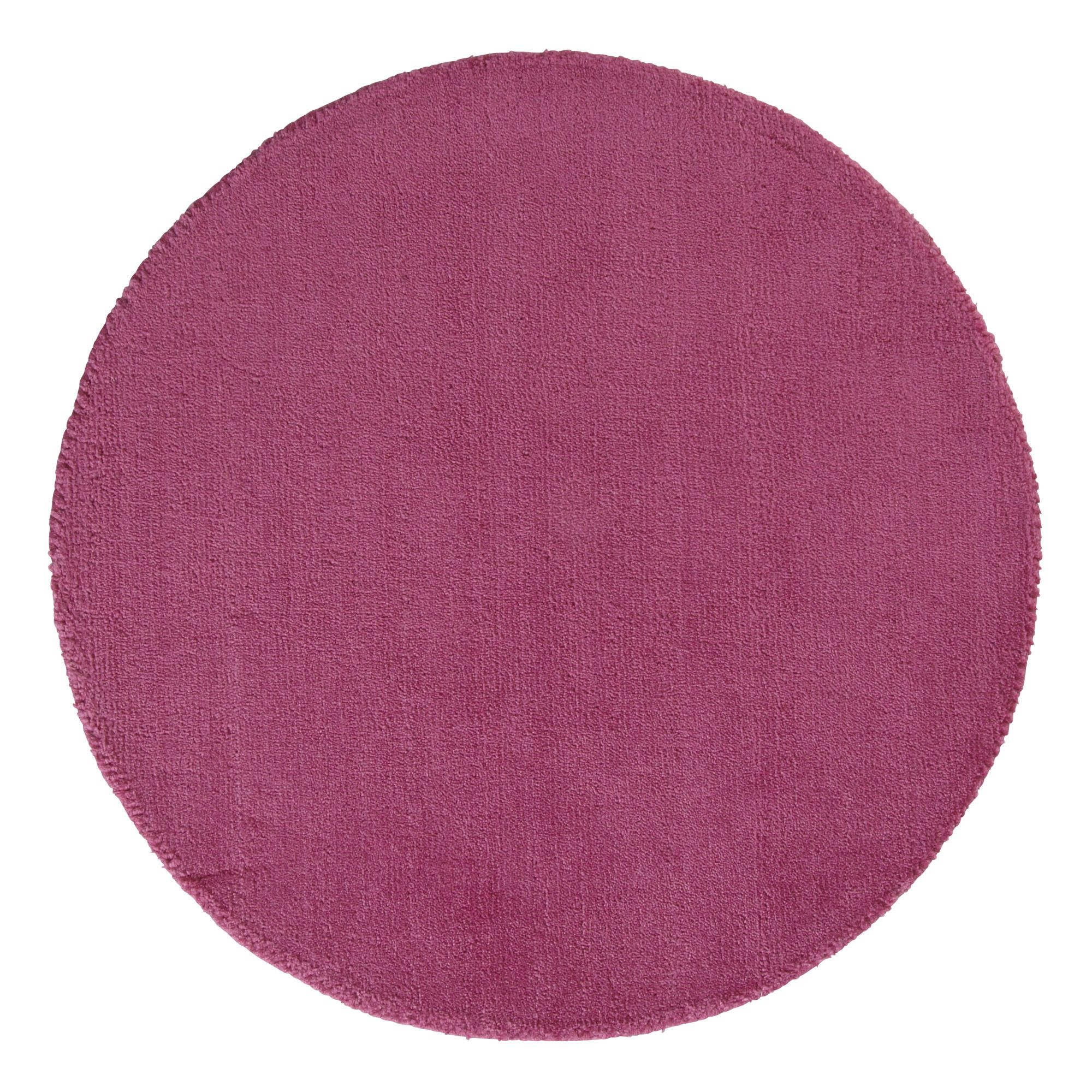 Colours Silas Pink Rug (L)0.8m (W)0.8m