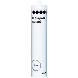 Diall All Purpose White Sealant 310 ml