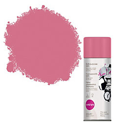 Colours Pink Splash Satin Spray Paint 400 ml