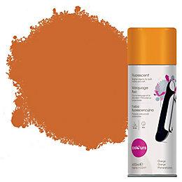 Colours Orange Satin Spray Paint 400 ml
