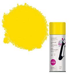 Colours Yellow Satin Spray Paint 400 ml