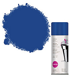 Colours Blue Ocean Satin Spray Paint 400 ml