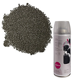 Colours Silver Glitter Effect Spray Paint 400 ml