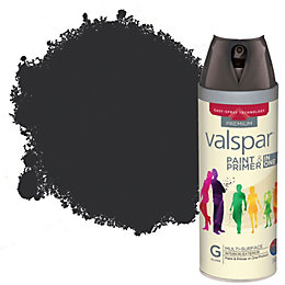 Colours Black Gloss Spray Paint 400 ml