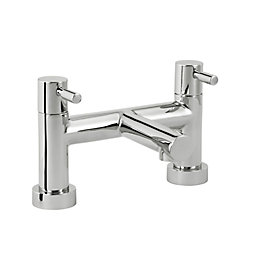 Cooke & Lewis Cirque Chrome Bath Filler Tap