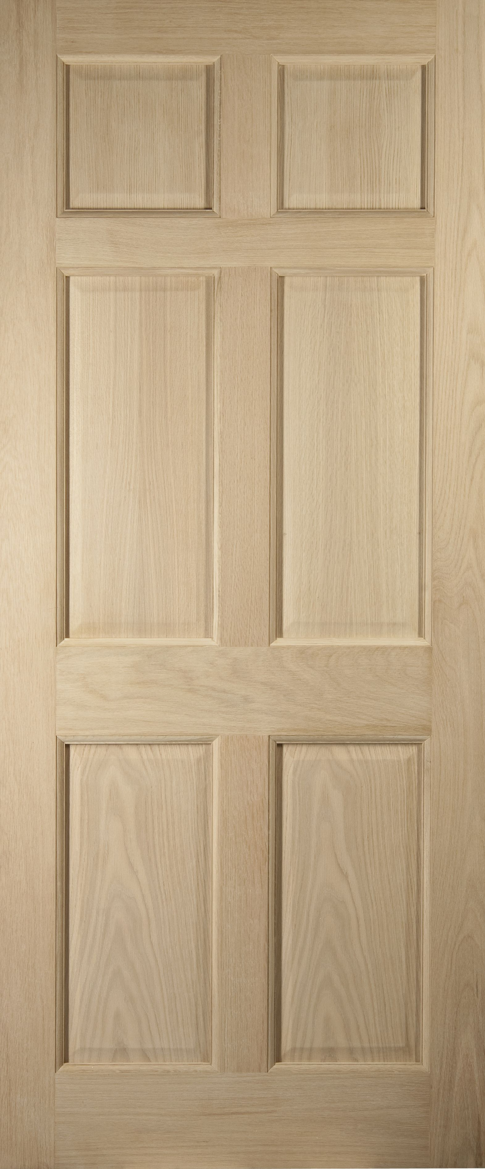 American white oak veneer timber glazed external back door for White back door