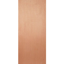 Flush Ply Veneer External Fire Door, (H)1981mm (W)838mm