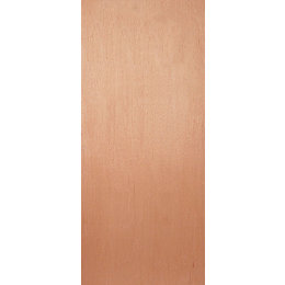 Flush Ply Veneer External Fire Door, (H)2032mm (W)813mm
