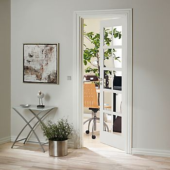 10 Lite Primed Smooth Internal Glazed Door