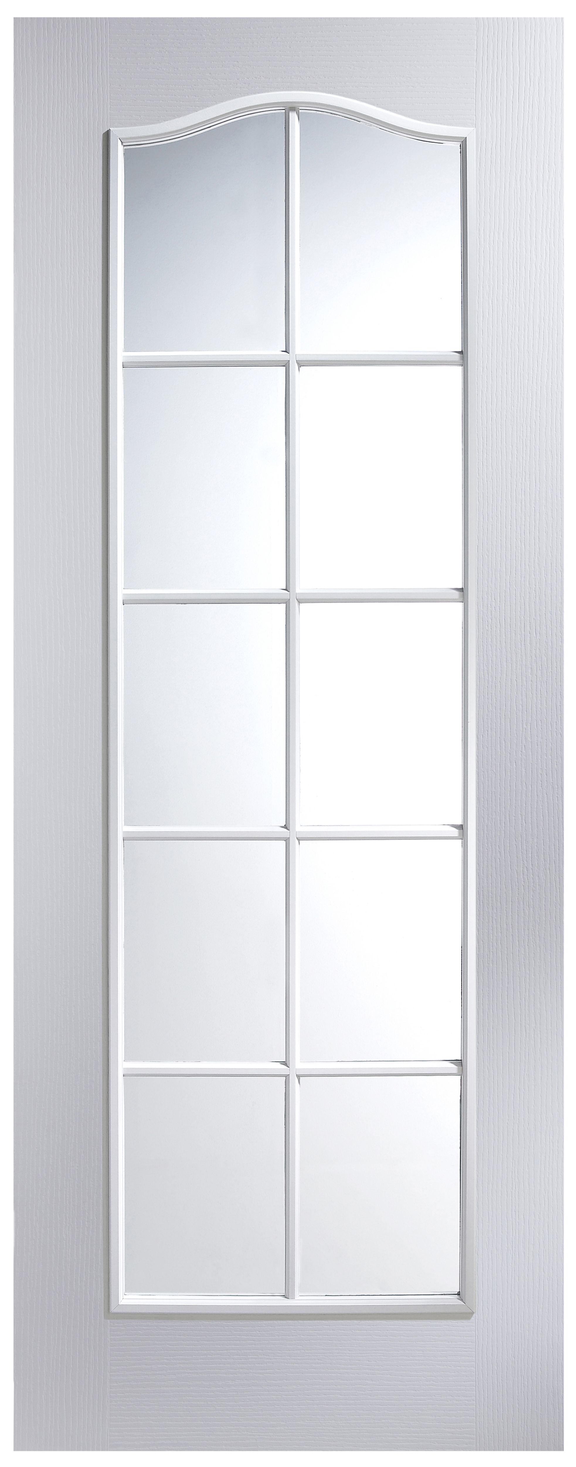 2 panel arched pre painted white woodgrain internal glazed. Black Bedroom Furniture Sets. Home Design Ideas