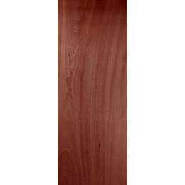 Flush Ply Veneer Internal Unglazed Door, (H)2040mm (W)626mm