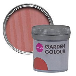Colours Garden Pomegranate Matt Woodstain 0.05L Tester Pot