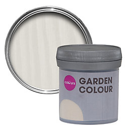 Colours Garden Ivory Matt Woodstain 50ml Tester Pot
