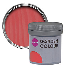 Colours Garden Coral Matt Woodstain 50ml Tester Pot