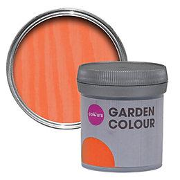 Colours Garden Apricot Matt Woodstain 50ml Tester Pot