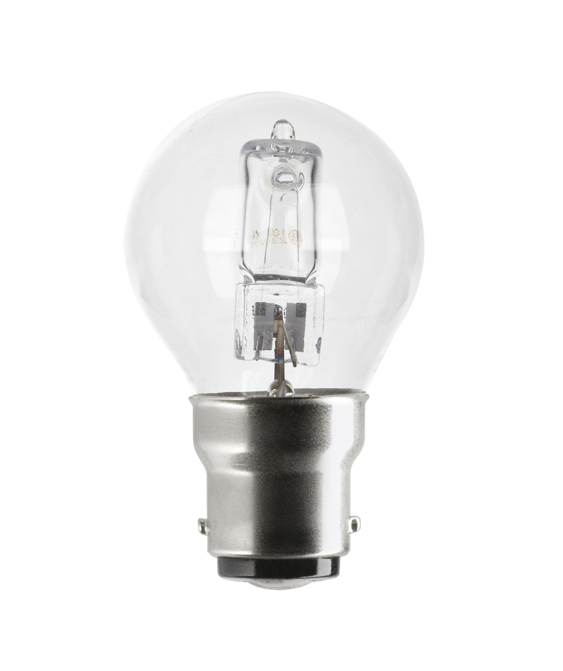 diall small bayonet cap b15 18w halogen eco round light. Black Bedroom Furniture Sets. Home Design Ideas