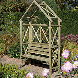Cottage Wooden Arbour with Assembly Service