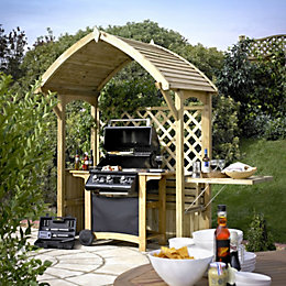 Barmouth Wooden Arbour with Assembly Service